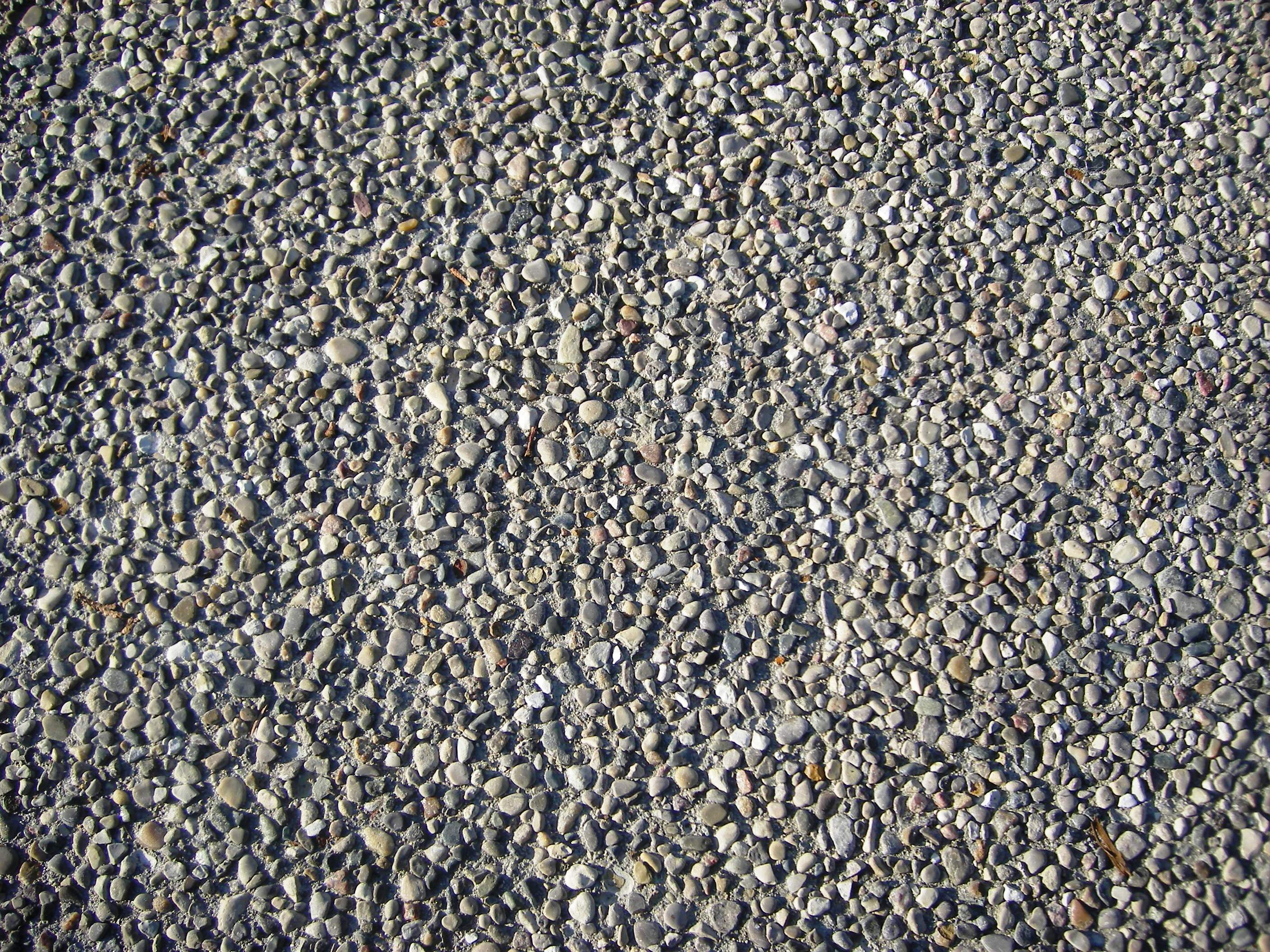 Exposed Aggregate Close Up